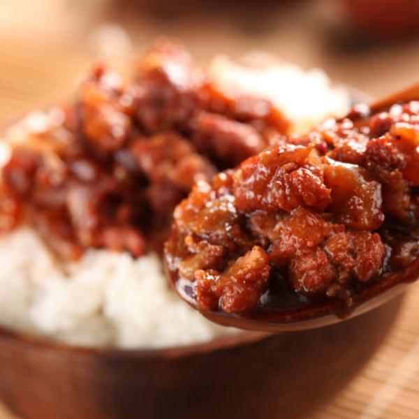 桃園八德美食-鼎太公馬祖紅麴滷味-紅麴手感肉燥