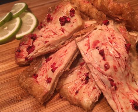 桃園八德美食-鼎太公馬祖紅麴滷味-紅麴燒肉系列-紅麴燒豆包